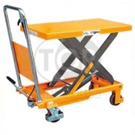Передвижные подъемные столы ножничного типа